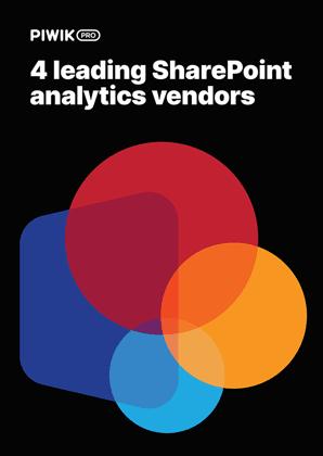 Compare 4 leading SharePoint analytics vendors